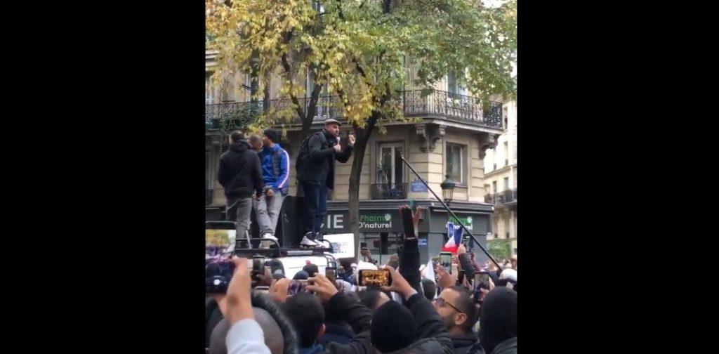Marche contre l'islamophobie : Marwan Muhammad (CCIF) fait scander à la foule «Allah Akbar !»
