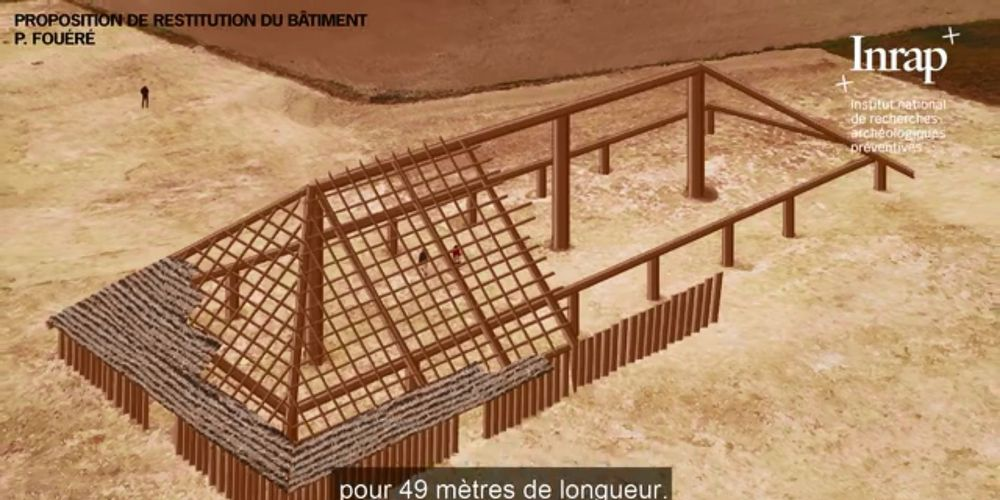 Vidéo. Un «édifice hors norme» découvert par des archéologues près de La Rochelle
