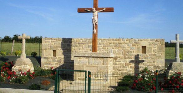 Plorec-sur-Arguenon : un calvaire vieux de 74 ans condamné à être démonter