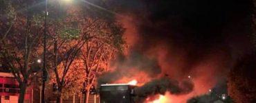 Encore un bus incendié à Sartrouville, le maire réclame la suppression du service la nuit