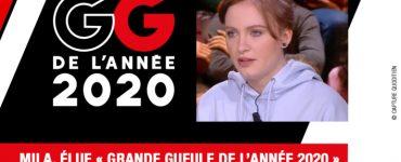 """EVENEMENT RMC - Mila désignée """"Grande Gueule"""" de l'année 2020 par les auditeurs de RMC"""