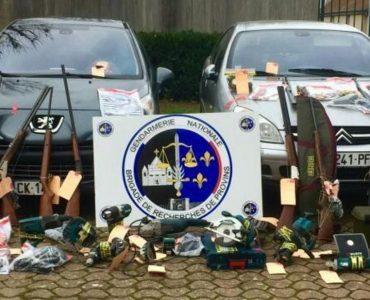 Seine-et-Marne : le duo pillait les voitures des chasseurs pour voler des fusils