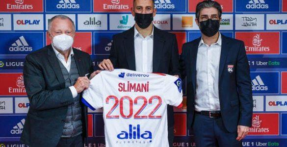 OL : Slimani, c'est la folie algérienne à Lyon !