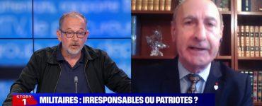Tribune de militaires: vif échange entre le général Antoine Martinez et le journaliste Thomas Legrand