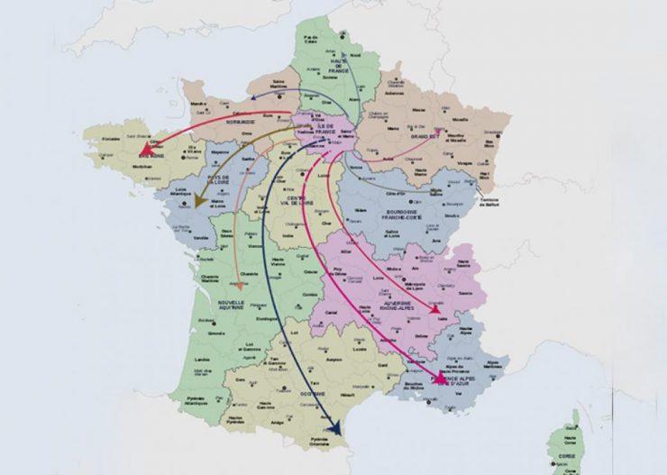 Près des trois quarts des demandeurs d'asile vont être orientés en régions, pour soulager l'Île-de-France
