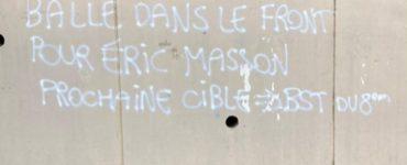 Lyon : un tag ciblant Eric Masson et la police du 8e arrondissement retrouvé ce lundi