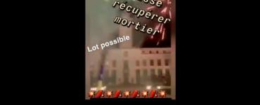 Villeurbanne : ils tournent un clip de promotion du mortier en tirant vers la mairie et le commissariat