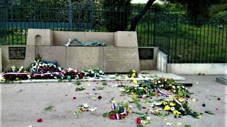 Un mémorial de la déportation saccagé à Marseille