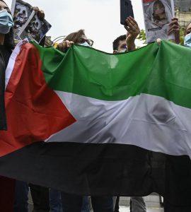 Manifestation pro-palestinienne à Paris : Bertrand Heilbronn, président de l'association France Palestine Solidarité, placé en garde à vue