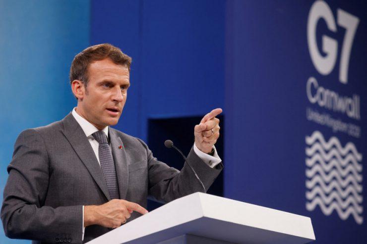 """G7 : contre le vote nationaliste, Macron prône des décisions internationales """"utiles"""""""