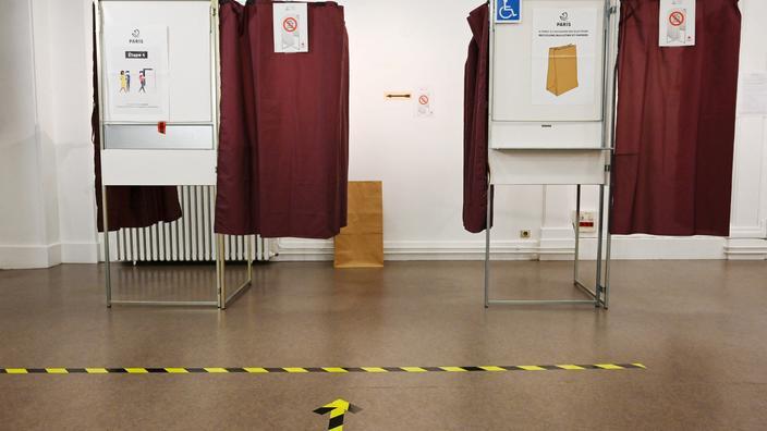 EN DIRECT - Élections régionales et départementales : les bureaux de vote ont ouvert