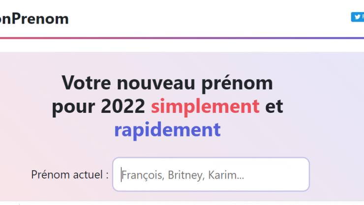 """Zemmour veut des prénoms """"français"""" : le site humoristique """"Vite mon prénom"""" vous propose de découvrir lequel vous correspond"""